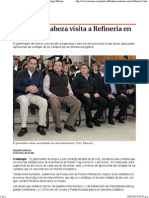 10-04-14 Medina encabeza visita a Refinería en Cadereyta - Grupo Milenio
