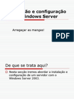 Windows 2003 Passo a Passo