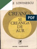 145044286 Vasile Lovinescu Creanga Si Creanga de Aur