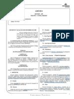 Decreto Distrital nº 19.547, de 2 de setembro de 1998, alterado pelo Decreto Distrial nº 22.726, de 15 de fevereiro de 2002