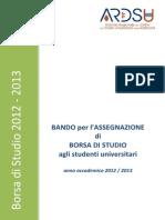 638 BANDO Borsa Studio 2012-2013