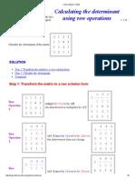Linear Algebra Toolkit