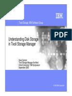 Understanding Disk Storage in TSM (Dave Cannon)