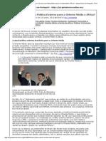 Global Voices em Português » Brasil_ Há uma Clara Política Externa para o Oriente Médio e África_ · Global Voices em Português » Print