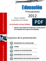 Situacion Actual de La Educacion Peruana
