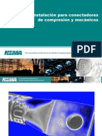 Guía de instalación para conectadores de compresión y mecánicos