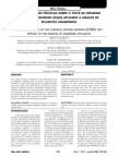 Consideracoes Praticas Sobre o Teste de Demanda Quimica de Oxigenio DQO Aplicado a Analise de Efl