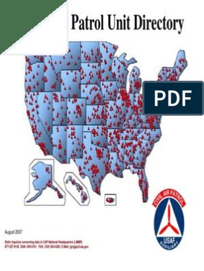 Cap Unit Directory Aug 2007