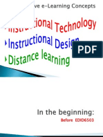 my reflective e-learning concepts of 2