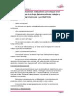Programación en Instalaciones con Enfoque en el Proceso