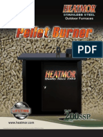 Heatmor Pellet Burner