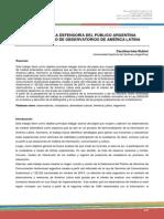 En El Contexto de Observatorios Latinoamericanos