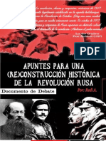 Documento de debate sobre la Revolución rusa- Redi A.