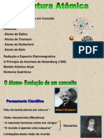 Estrutura Atômica 2013