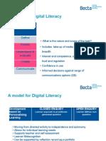 A Model for Digital Literacy
