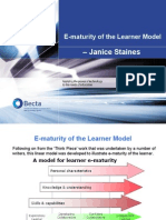 E-Maturity of the Learner Model