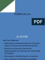 TEÓRIA DE LA L