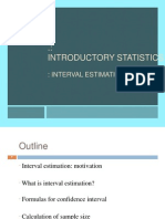 Estimation - Statistics