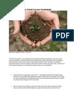 7 Bahan Suburkan Tanah Secara Semulajadi