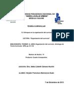 ENFOQUES DE LA ORGANIZACIÓN DEL CURRÍCULO_Geyder.docx