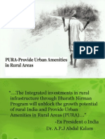 PURA Providing Urban Amenities in Rural Area
