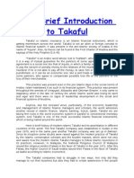 A Brief Introduction to Takaful