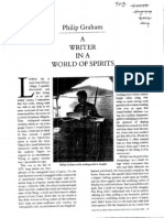 Writer-World of Spirits