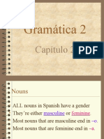 Notes Chapter 2, Grammar 2