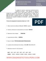 Progra. Inyectores l200