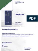sketcher-catia v6