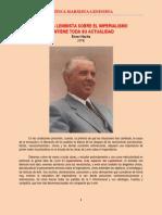 Hoxha - La Teoría Leninista sobre el Imperialismo Mantiene toda su Actualidad (1978)