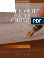 Testimonies for the Church Volume 6