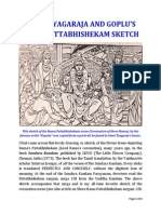 Saint Tyagaraja and the Gopulu Rama Pattabhishekam Sketch