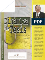 Dinámica de Tesis -JULIO DOMINGUEZ
