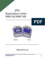 Manual Holter MMC10L - MMC10D