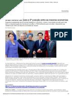 Brasil deverácair para a 9ªposição entre as maiores economias - Economia - Notícia - VEJA.pdf