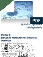 Unidad 1. Estructura Molecular de Compuestos Orgánicos