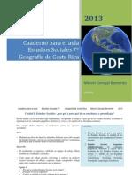 Cuaderno Didáctico Geografía_Sétimo Año_Estudios Sociales_Marvin Carvajal Barrantes