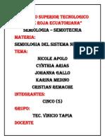 Resumen de Semiologia de Los Reflejos