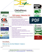 10th April 2014 Daily Global Rice E-Newsletter by Riceplus Magazine