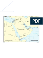 Map - The Middle East