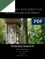 Urban Design & Development Plan for the Skinker DeBaliviere Community - FINAL