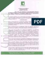 Acuerdo 004 c.a. 2014 Convocatoria Docentes Planta