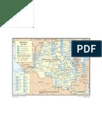 Map - U N  Monuc
