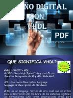 DISEÑO DIGITAL VHDL