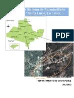Informe Final Santa Lucia, La Labor