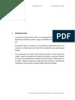 Informe de PVC