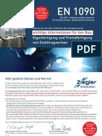 Mailing Ziegler Zertifizierung 2014 Bau Web