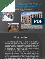 HERRAMIENTAS Y TECNICAS PARA EL ABASTECIMIENTO DE LA CONSTRUCCIÓN