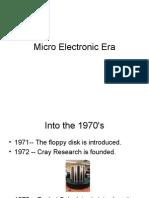 1 Microelectronic